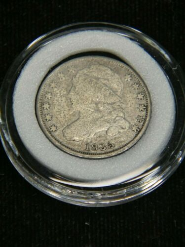 1835 Capped Bust Dime Good with Full Liberty in Airtight Cap #DP14