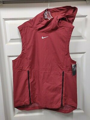 NEW Red Nike Alpha Fly Rush Vest XL Mens Elite Max Sleeveless Jacket $145 (Fly Max Football)
