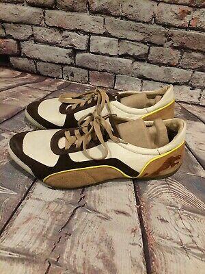 Puma Rudolf Dassler Schuhfabrik brown ivory Sneakers US 11  ()