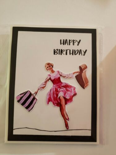 THE SOUND OF MUSIC HAPPY BIRTHDAY GREETING CARD