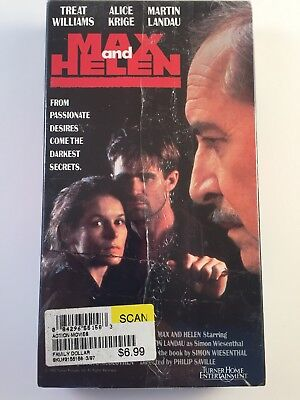 Max And Helen Rare   Oop Drama Movie Turner Home Entertainment Video Vhs  New