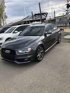 2015 Audi S4 Technik+ W/Black optics