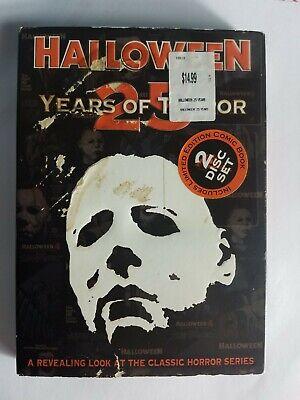 25 Years Of Halloween (Halloween: 25 Years of Terror DVD 2006 2-Disc Set John Carpenter Horror)