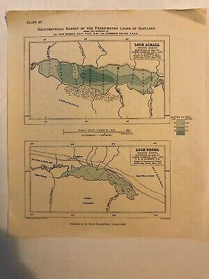 Loch Achall & Loch Droma - Broom Basin (20 X 24cm)