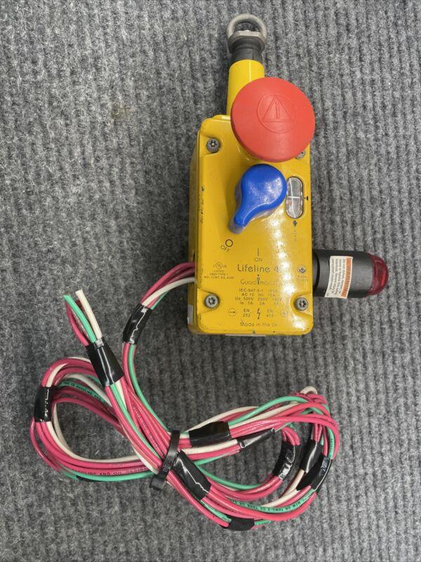 Allen Bradley 440E-L13043  Guardmaster Lifeline 4 Cable Pull Switch 180094
