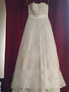 Casablanca 1900 Wedding Gown - New with tags