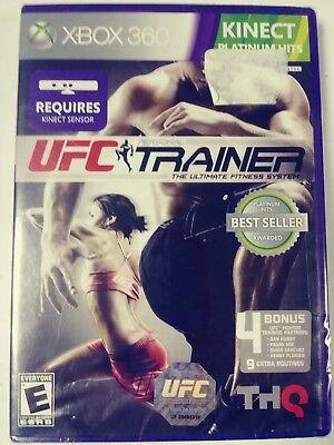 UFC Personal Trainer (Kinect) XBOX 360  NEW FACTORY SEALED comprar usado  Enviando para Brazil
