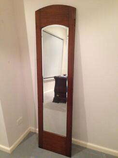 Wooden framed standing mirror Northbridge Willoughby Area Preview