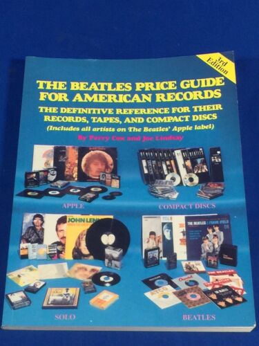 THE BEATLES PRICE GUIDE FOR AMERICAN RECORDS 3RD EDITION 1990