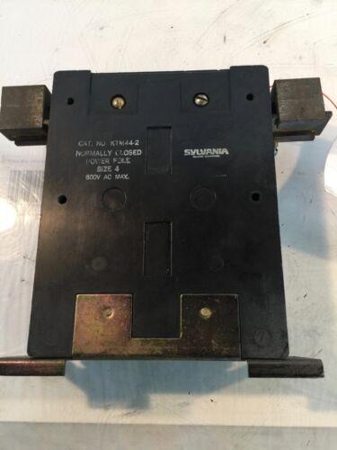 Sylvania Size 4 600 V Power Pole KTM44-2