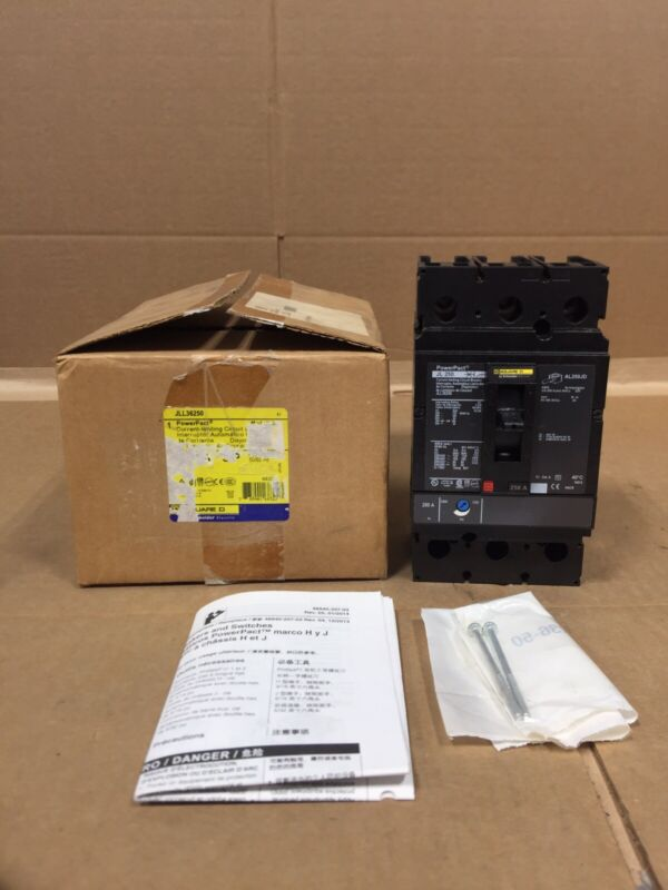 NEW SQUARE D JLL36250 POWERPACT jjl36250 FREE 2 DAY AIR HOUSTON STOCK