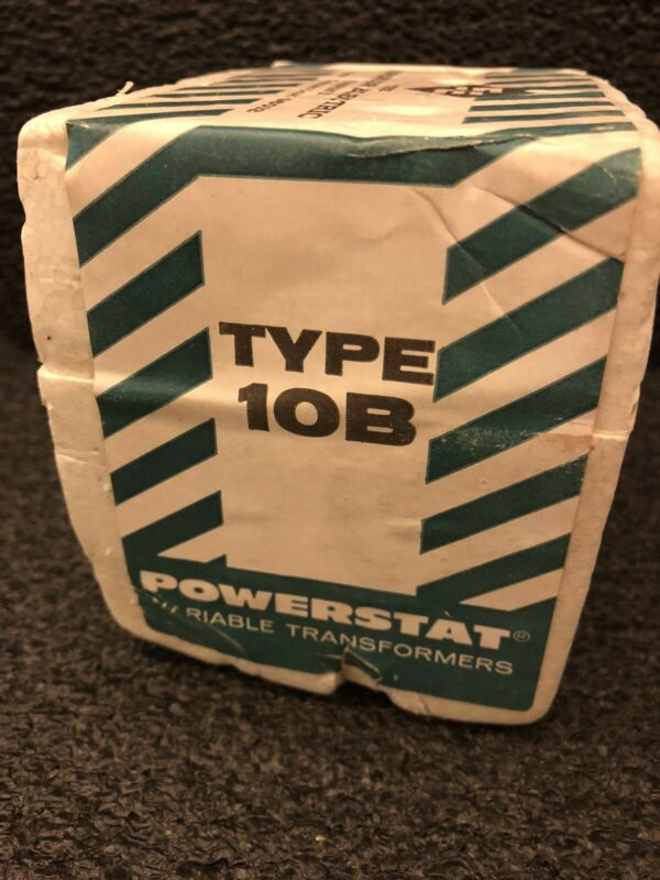 Superior Electric Type 10B  Powerstat Variable Transformers NEW!