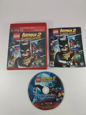 LEGO Batman 2: DC Super Heroes Sony PlayStation 3 PS3 Greatest Hits . Tested
