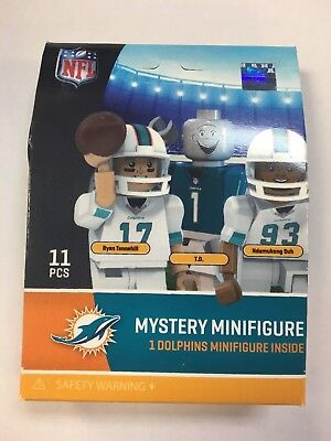 Oyo Sports NFL Miami Dolphins Blind Bag Sealed Ryan Tannehill T.D. Ndamukong Suh