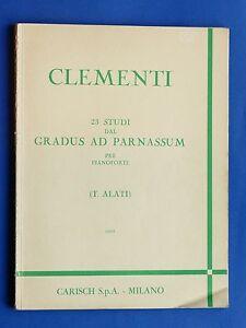 Musica-Spartiti-Clementi-23-studi-dal-Gradus-al-Parnassum-per-Pianoforte