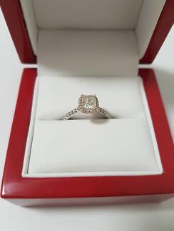 1.01 ct Brilliant Diamond Ring - Valued $15,000