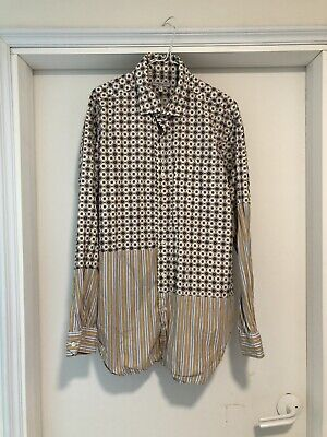 Engineered Garments shirt L 20ss Rare Spread Collar