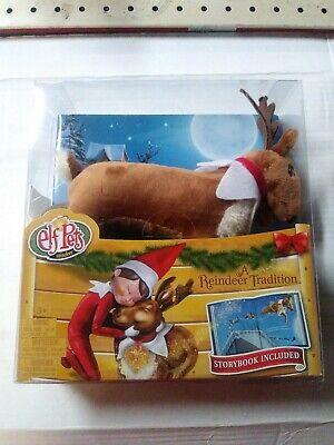 Elf on the Shelf Pets Reindeer Set Hardcover Book And Plush Christmas. Free Ship