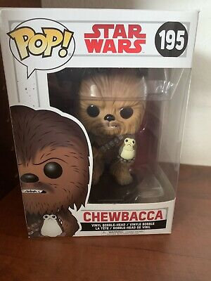 Funko Pop Star Wars #195 Chewbacca Bobble Head Vinyl Figure with Box