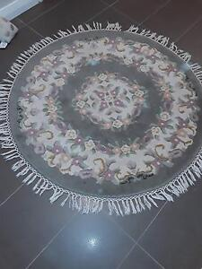 ROUND WOOL  RUG 145cm  DIAMETERS Hillarys Joondalup Area Preview