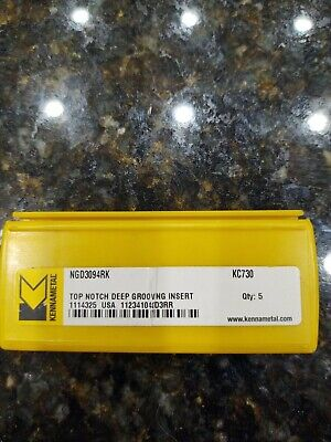 Kennametal Ngd3094rk Kc730 Carbide Inserts 5 Pack Free Shipping