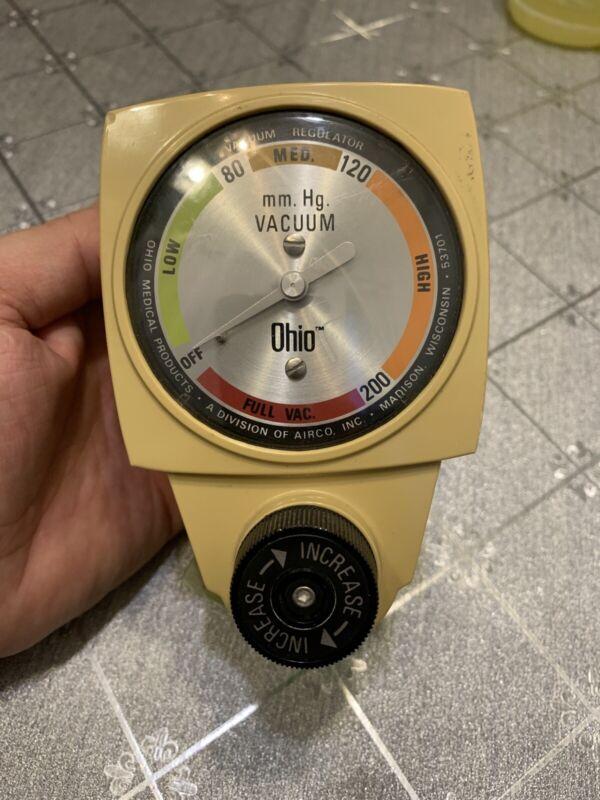 Ohio Ohmeda AHCM30815 Vacuum Regulator