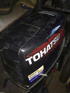 8hp tohatsu boat motor
