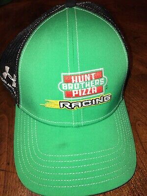 50ce1660751 JR Motorsports KEVIN HARVICK Under Armour HUNT BROTHERS PIZZA Pit Crew Hat  Team
