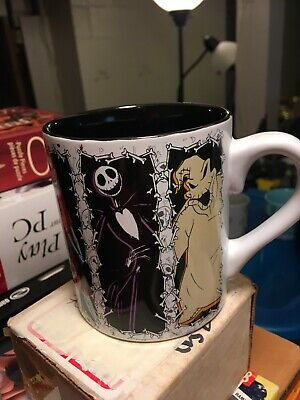 Collectible Disney Nightmare Before Christmas Ceramic Coffee Mug 14 Oz