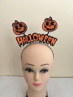 Halloween Head Boppers Pumpkin Headbands Boppers Halloween.