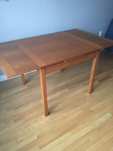 teak table small kijiji in ontario buy sell save with
