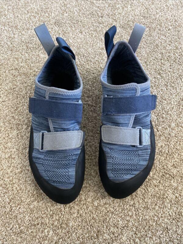 Black Diamond Womens Blue Steel Momentum Neutral Rock Climbing Shoes Size 8 Uk