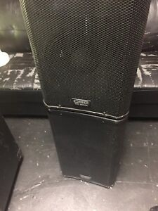 QSC KW122 speakers for sale (pair)