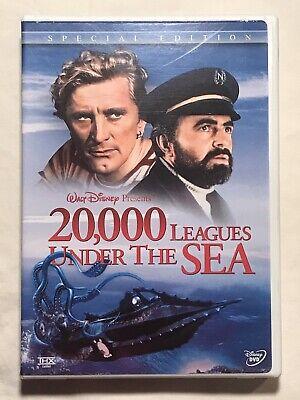 Walt Disney 20, 000 Leagues Under the Sea DVD 2-Disc Set Special Edition