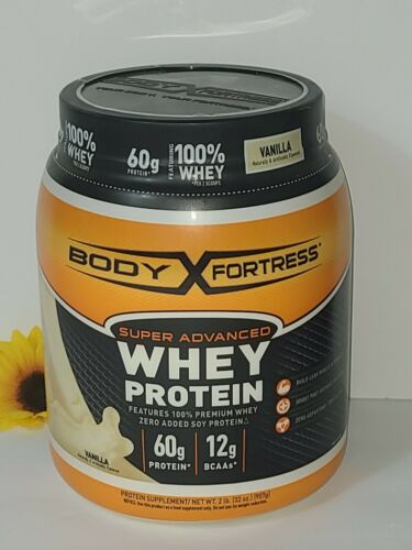 Body Fortress Super Advanced Whey Protein Powder,  2 Lbs, Va