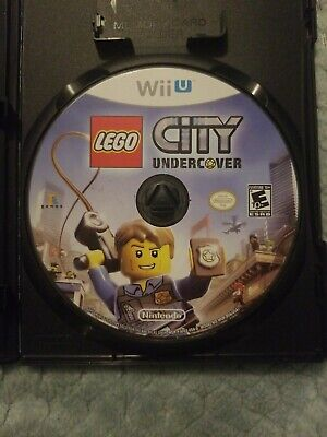LEGO City Undercover (Nintendo Wii U, 2013) Game Disc Only