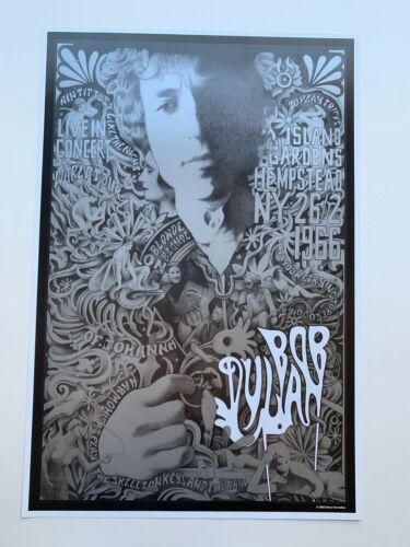 Bob Dylan Poster by Steve Harradine