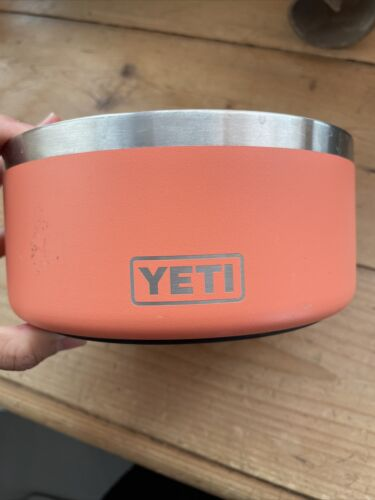 Yeti Dog Bowl Pink Coral - $21.50