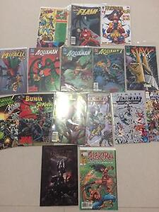Misc comic lot. Marvel, DC, Image, Wolverine, Aquaman etc Taringa Brisbane South West Preview