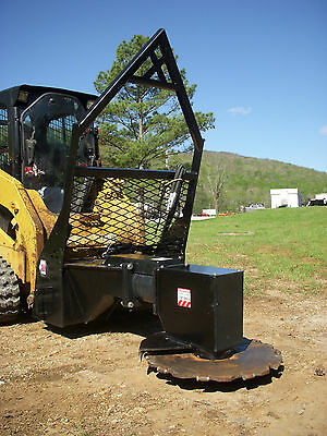Bobcat Cat Skid Steer Attachment - Vail High Flow Rotating Tree Saw Cutter