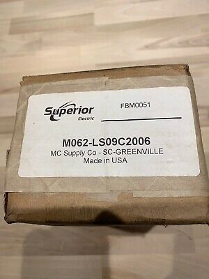 Superior Electric Slo-syn Stepping Motor Type M062-ls09c2006