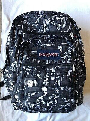 Jansport Black and White rucksack, used minimal times so mint condition!