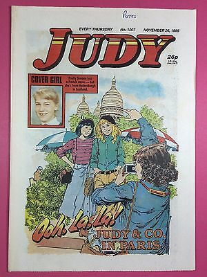 JUDY - Stories For Girls - No.1507 - November 26, 1988 - Comic Style Magazine