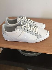 Lacoste Shoes All White