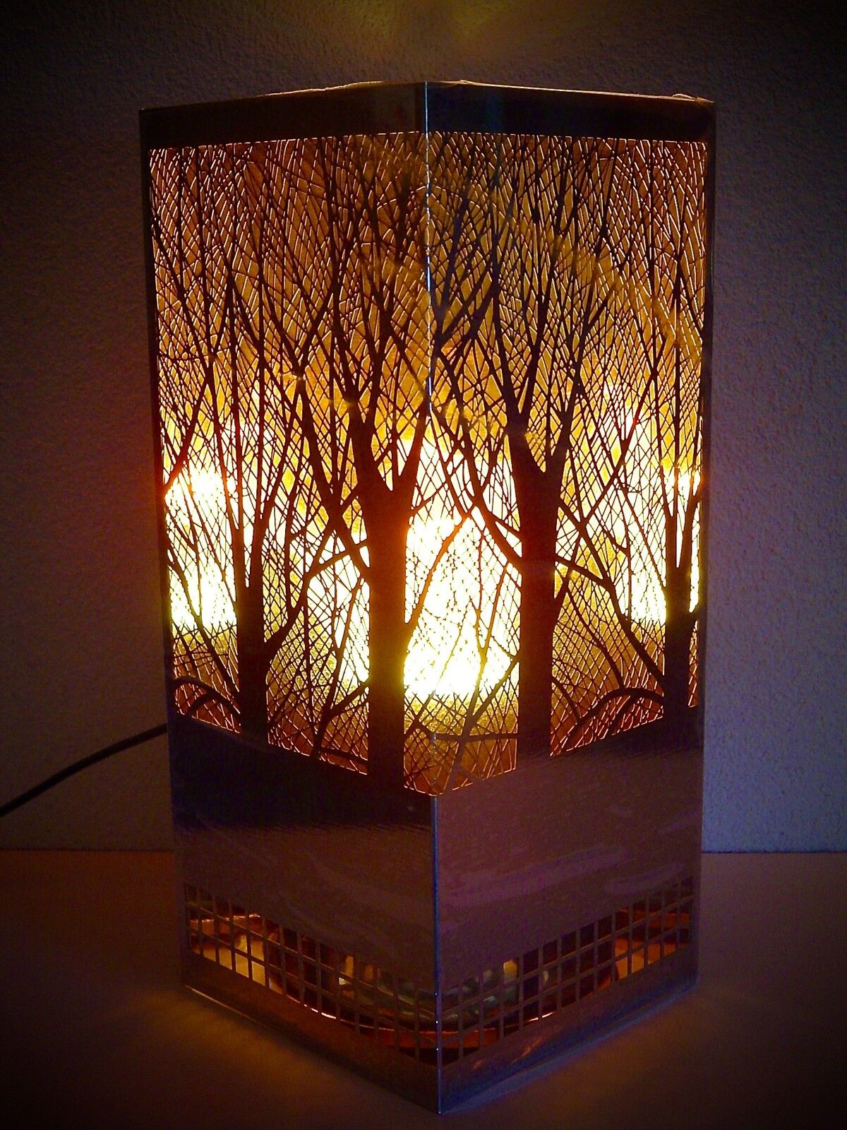 flammens ule kamin elektrisch flammenleuchte edelstahl. Black Bedroom Furniture Sets. Home Design Ideas