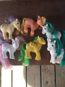 My little pony 1980's