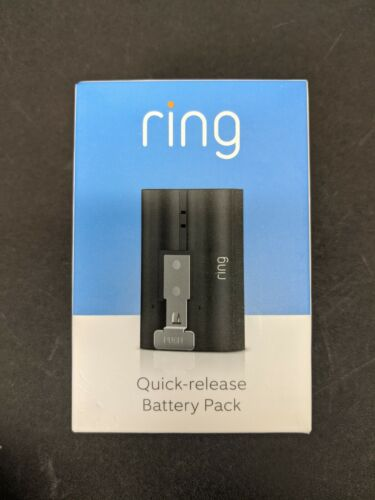 Brand New Ring Video Door Bell Rechargeable Quick Release Backup Battery Pack