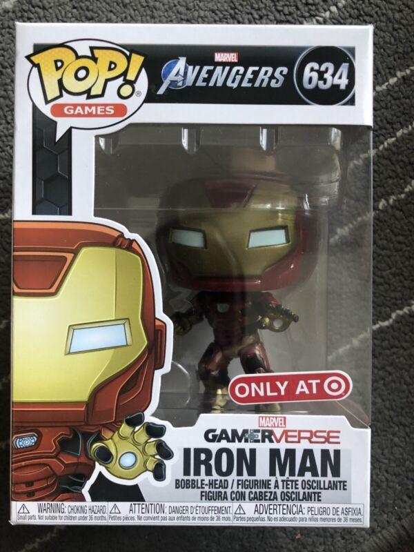 Funko POP Games Avengers Gamerverse Iron Man #634 Target Exclusive