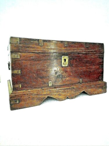 Antique Korean Tea Chest With Hidden Storage
