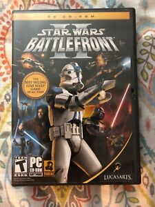 Star Wars Battlefront 2 PC CD ROM Game